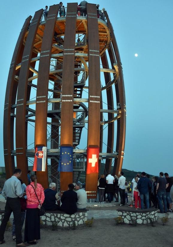 Vyhliadková vežža v Malej Tŕni
