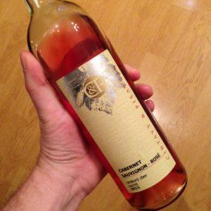 Cabernet Sauvignon rosé, ročník 2015 (Cintavý & Pisarčík)