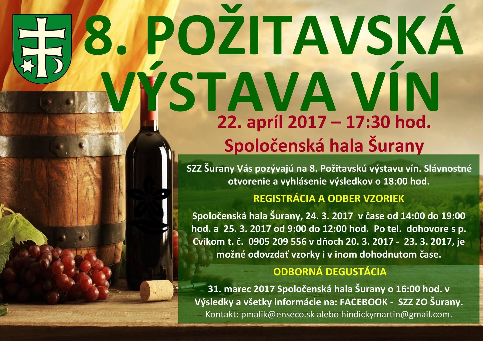 8. Požitavská výstava vín 2017