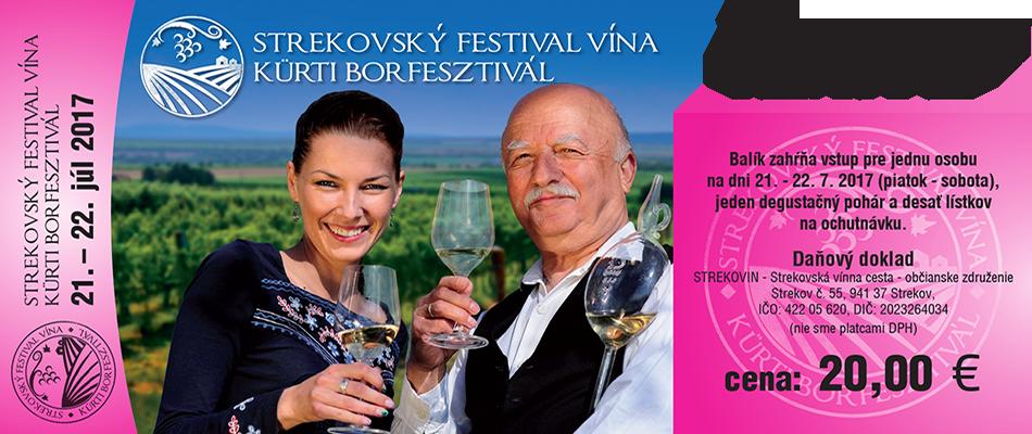 X. Strekovský Festival Vína