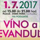 Víno a levanduľa 2017