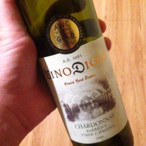 Chardonnay barrique, ročník 2009 (Vino DIOUS)