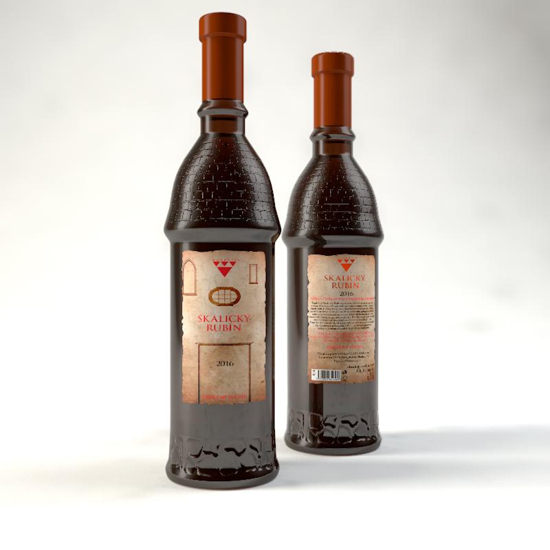 Skalický rubín - Víno Masaryk