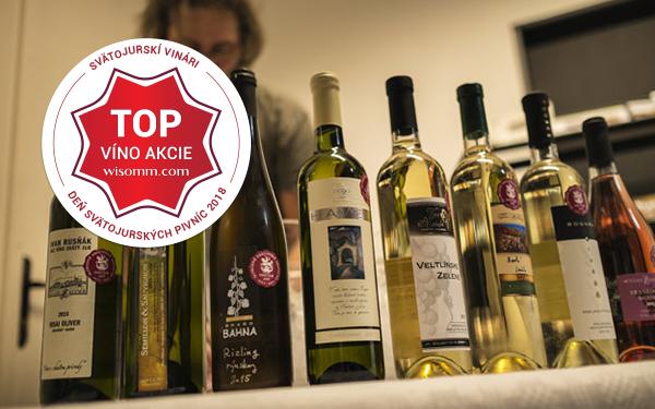 Ochutnávka TOP vín akcie DSP 2018