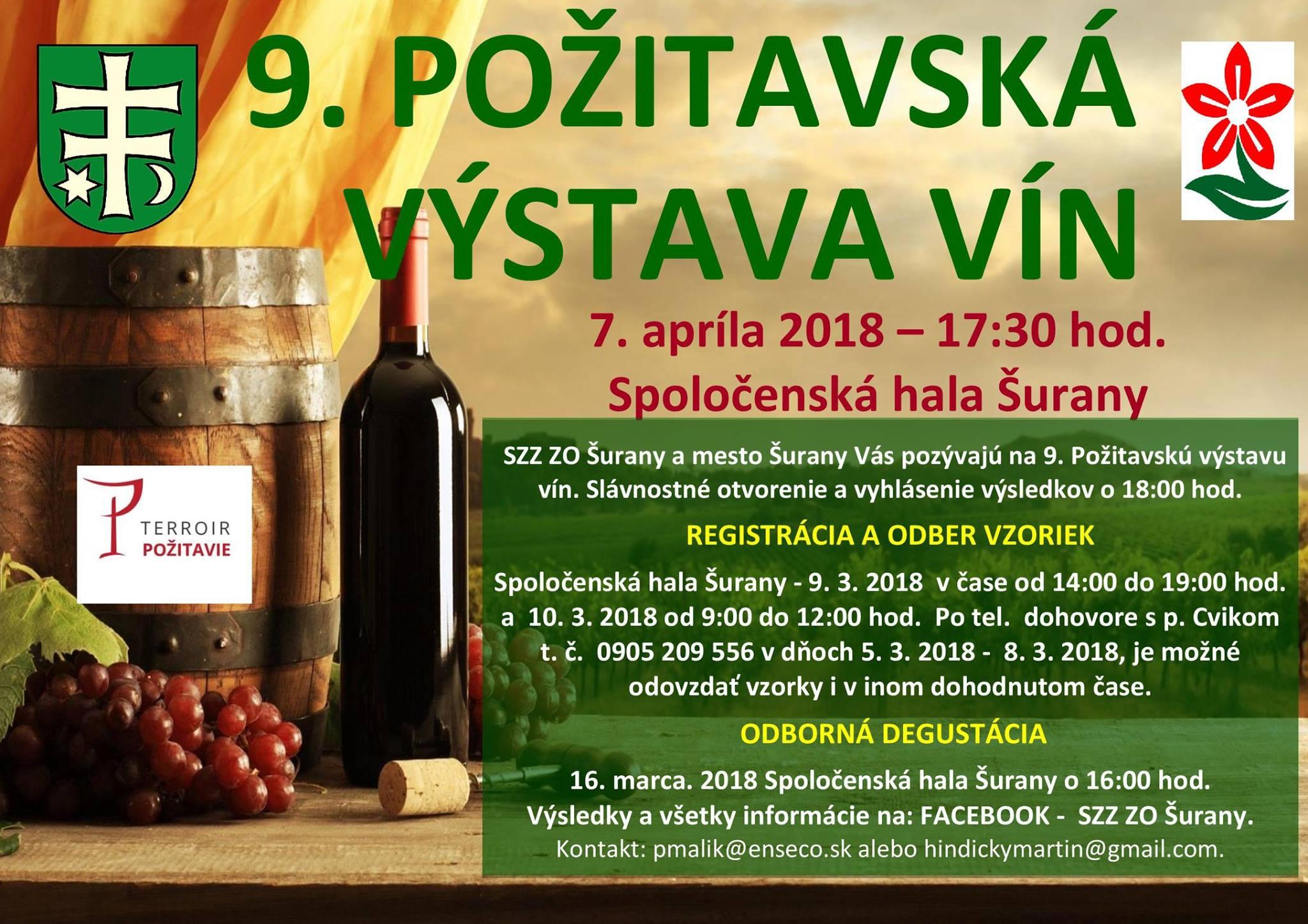 9. Požitavská výstava vín 2018