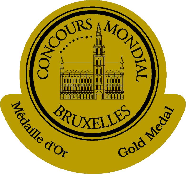 mondial de bruxelles 2018 gold medal