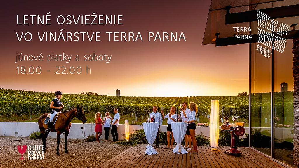 Letné osvieženie vo vinárstve Terra Parna 2018