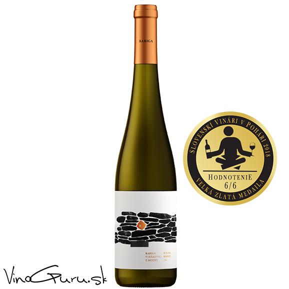 Rizling rýnsky, ročník 2017 od vinárstva Rariga.