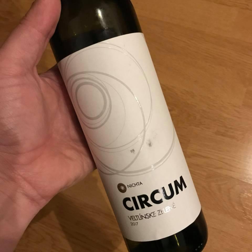 Circum Veltlínske zelené, ročník 2017 od vinárstva Nichta.