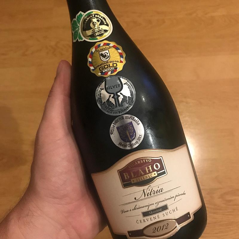 Nitria, ročník 2012 od vinárstva Blaho.
