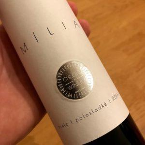 Mília, ročník 2016 (Chlebo Winery)