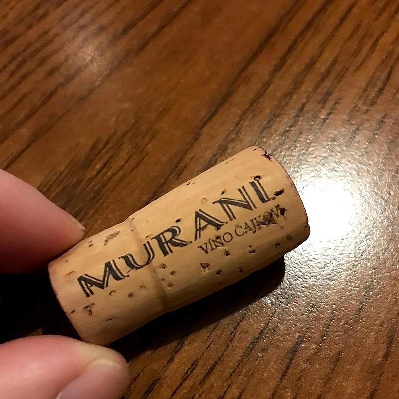 Detail korku pri víne Dunaj, ročník 2017 od vinárstva Murani.