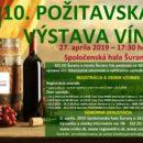 10. Požitavská výstava vín Šurany 2019