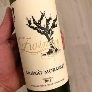 Muškát moravský, ročník 2018 (Z Winery)
