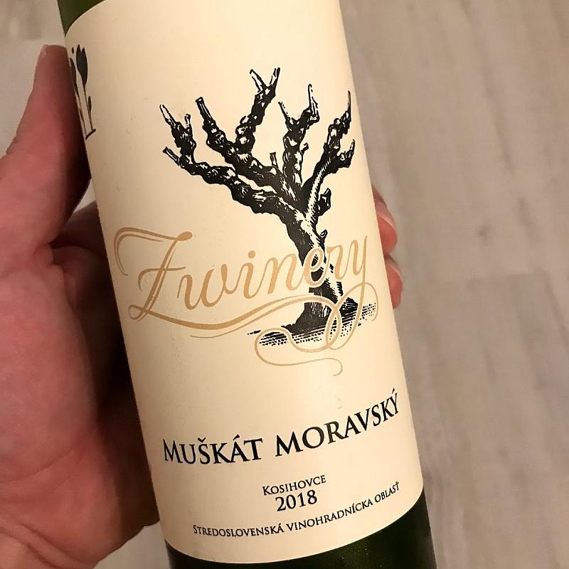 Muškát Moravský, ročník 2018 od Z Winery.