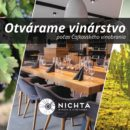 Vinárstvo Nichta otvorené počas Čajkovského vinobrania